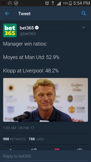 Manager win ratios