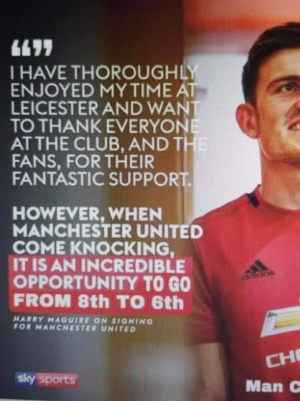 Harry Maguire signing